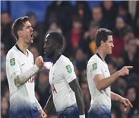 شاهد| توتنهام يفوز بثلاثية على ليستر سيتي بالدوري الإنجليزي