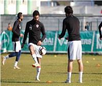 تدريبات قوية للاعبي الزمالك استعدادا لمواجهة نصر حسين داي