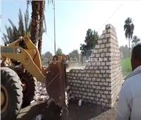 فيديو  الداخلية تواصل حملاتها لإزالة التعديات على الأراضي الزراعية