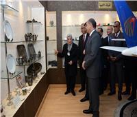 يونس المصري يتفقد شركة مصر للطيران للخدمات الجوية