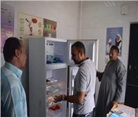 محافظ المنيا يتابع العمل بأقسام مستشفى جراحات اليوم الواحد