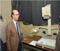 أحمد المنشاوي: توثيق ميكروفيلمي لقاعدة بيانات جامعة أسيوط