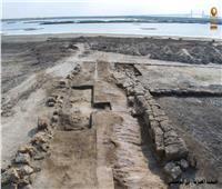 الكشف عن ورشة بناء وإصلاح المراكب والسفن بتل آثار أبوصيفي