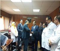 رئيس أمانه المراكز الطبية يزور مركز أورام طنطا