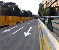 افتتاح نفق النهضة تجريبيا بعد انتهاء تطويره