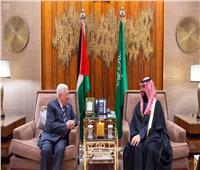 بن سلمان يبحث مع عباس الأوضاع في فلسطين