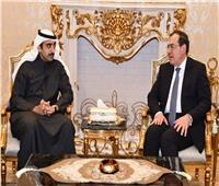 وزير البترول يبحث مع نظيره البحريني التعاون بين البلدين