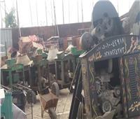 صور| محافظ القاهرة: التحفظ على 20 «خلاطة خرسانية» و13 طن حديد وأسمنت