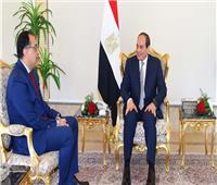 شاهد| تفاصيل اجتماع «السيسي» مع رئيس الوزراء ووزير الإسكان الجديد