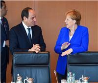 بالفيديو  السيسي وميركل.. زيارات متبادلة مدعومة بعلاقات اقتصادية قوية