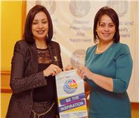 مايا مرسي تشارك بندوة «دور المرأة المصرية في بناء الوطن»