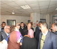محافظ القاهرة في زيارة مفاجئة لمستشفى التبين العام