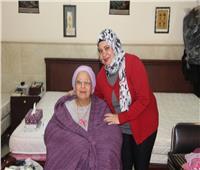 فيديو| فى «عيد الحب».. قصص وحكايات في دار المسنين