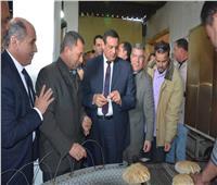 محافظ البحيرة يفتتح المخبز الاستراتيجي بمدينة الرحمانية