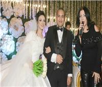 صور|كارين نوالي وياسر عدوية يحيان زفاف ابن شقيق الإعلامي أحمد الشريف