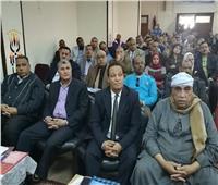 صور.. القوى العاملة تطلق محطة جديدة لمبادرة «مصر أمانة بين أيدك» بقنا