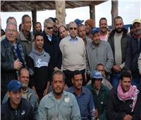أبرزها محطة الإنتاج الحيواني.. تفاصيل جولة وزير الزراعة بمشروع غرب المنيا
