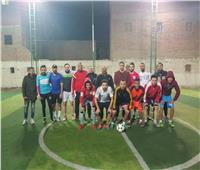 «مستقبل وطن» ينظم دورة كرة قدم في الطالبية