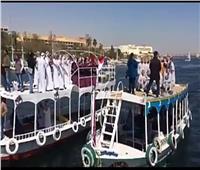 فيديو| 16 دولة تحتفل برئاسة مصر للاتحاد الإفريقي