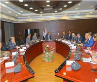 وزير النقل يتابع معدلات تنفيذ «محاور النيل الستة» مع عادل ترك