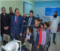 نائب محافظ الإسكندرية يُتابع تنفيذ مبادرة «نور حياة» بالمدارس