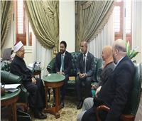 مفتي الجمهورية يستقبل وفدًا من جزر المالديف لتعزيز التعاون الديني