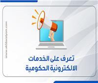 بالإنفوجراف | تعرف على الخدمات الالكترونية الحكومية