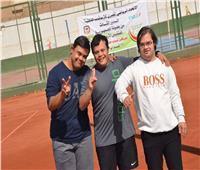 ختام الدور الثالث من بطولة التنس الأرضي لذوي الاحتياجات الخاصة