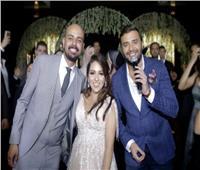 صور| رامي صبري وحجاج يحتفلان بخطوبة «كوتي» بحضور النجوم