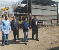 رئيس «السكة الحديد» يفاجئ ورش الإشارات ويحيل مسئولين للتحقيق