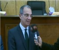 فيديو| وزير الاتصالات: محافظة أسوان في قلب النهضة المصرية
