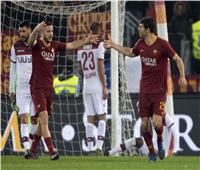 شاهد  «فازيو» يقود روما لفوز ثمين على بولونيا في الكالتشيو