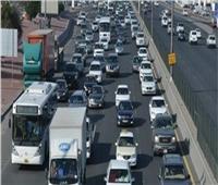 فيديو| كثافات مرورية أعلى كوبري أكتوبر بسبب حادث تصادم