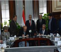 صور|«أبوستيت» يشهد توقيع بروتوكولات تعاون لدعم منتفعي الإصلاح الزراعي