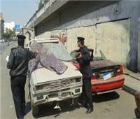 المرور يرفع السيارات المتروكة فى حملات بشوارع القاهرة