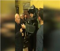 شاهد| خبراء المفرقعات خلال تمشيط منزل إرهابي «الدرب الأحمر»