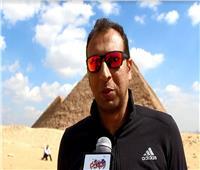 فيديو|مصطفى السعيد: الأهرامات الحلم الأول لممارسي رياضة القفز الحر