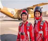 فيديو|أبطال العالم في القفز الحر : القفز فوق الأهرامات فرصة عظيمة