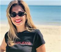 صور| منة فضالي تتحدى مأساتها بجلسة تصوير على الشاطئ