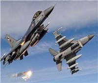 طائرات حربية تقصف 9 أهداف لداعش بمحافظة ديالي شرق العراق