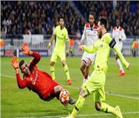 """فيديو.. برشلونة وليون يتعادلان ويتأجل الحسم في """"الكامب نو"""""""