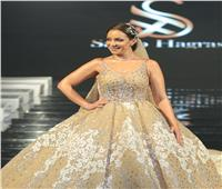 صور| ريم البارودي عروس عرض أزياء سامو هجرس