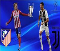 بث مباشر| أتلتيكو مدريد ويوفنتوس في دوري أبطال أوروبا