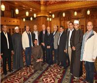 رئيس المحكمة الدستورية العليا يشيد بمسجد الصحابة بشرم الشيخ
