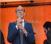 صور| تكريم محمد صبحي في مهرجان «800 سنة منصورة»