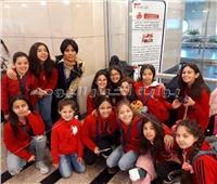 فريق الجمباز للصغار يغادر إلى فيينا للمشاركة بالبطولة الدولية
