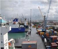 تداول 384 شاحنة بضائع عامة بموانئ البحر الأحمر