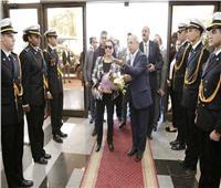 وزيرة البيئة تزور الأكاديمية العربية للعلوم والنقل البحري بالإسكندرية