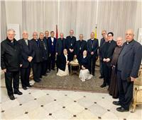 السفير البابوى يستقبل مجلس الأساقفة اللاتين