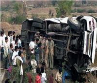 مصرع وإصابة 24 شخصا جراء حادث سير في الهند